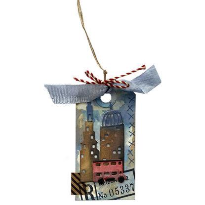 Obrázek Jmenovka na dárek (malá) Mĕsto