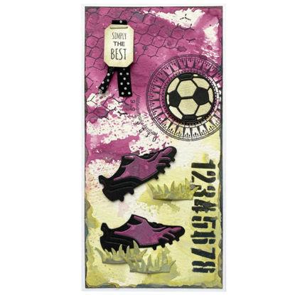 Obrázek Přáníčko do obálky Fotbalové 3