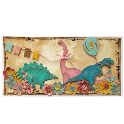 Obrázek Přání k 3. narozeninám Dino