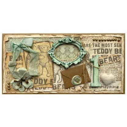 Obrázek Přání k 1. narozeninám Teddy bears 2