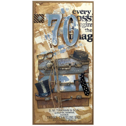 Obrázek Přání k 70. narozeninám Cestovatel