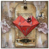 Obrázek Valentýnské přáníčko Srdce s korunkou