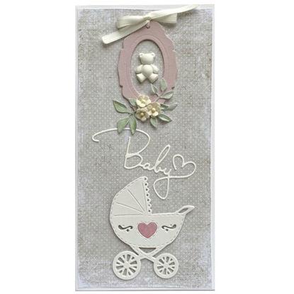 Obrázek Přání k narození miminka Pro holčičku 3
