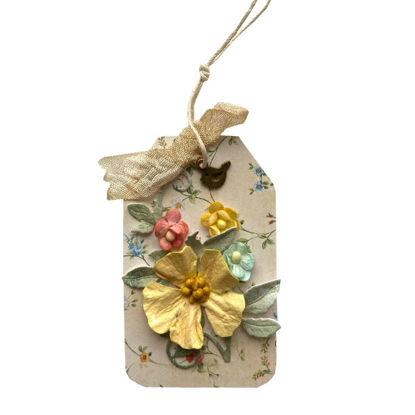 Obrázek Jmenovka na dárek (malá) Květinková