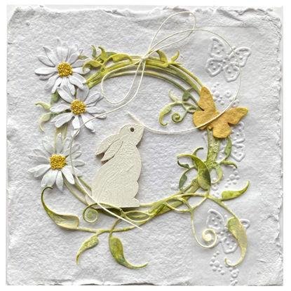 Obrázek Velikonoční přání S motýlkem