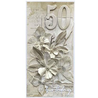 Obrázek Přání k 50. narozeninám Natural