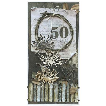 Obrázek Přání k 50. narozeninám Natural 2