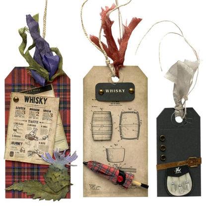 Obrázek Jmenovky na dárky (velké a malá) Skotské
