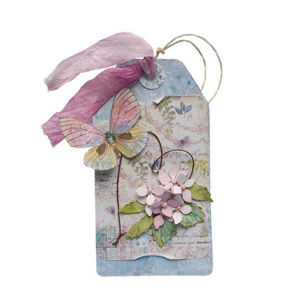 Obrázek Jmenovka na dárek (velká) Hortenzie