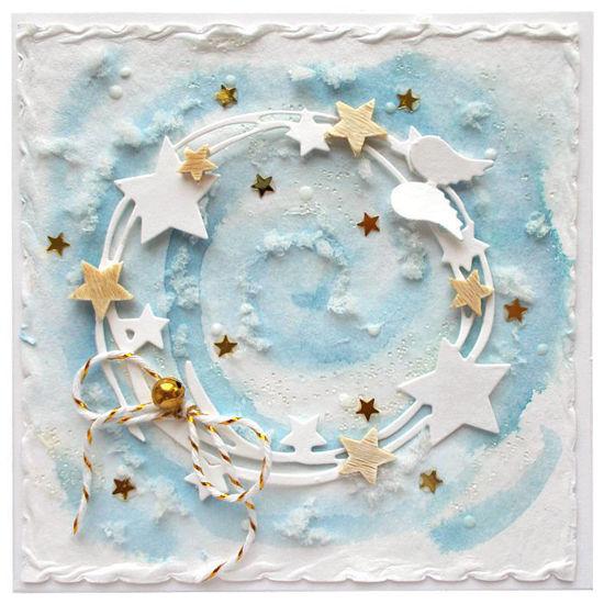 Vánoční přání Vánoční nebe