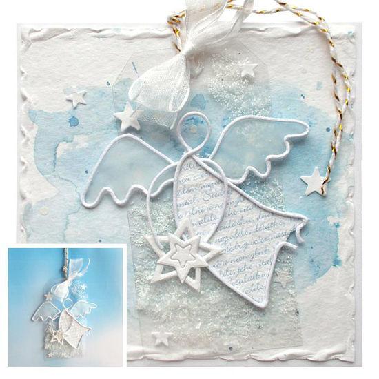 Obrázek Vánoční přáníčko s dárečkem 1
