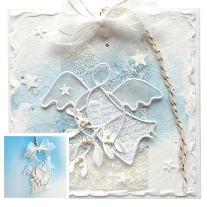 Obrázek Vánoční přáníčko s dárečkem 2
