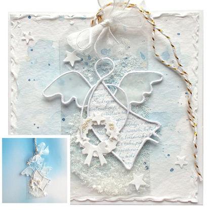 Obrázek Vánoční přáníčko s dárečkem 4