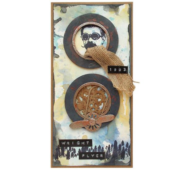 Obrázek Přáníčko do obálky Letecké