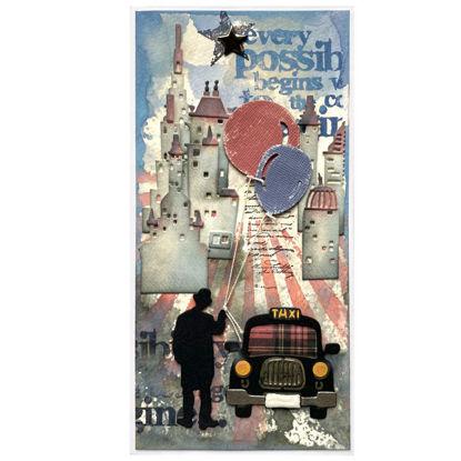 Obrázek Přáníčko do obálky S balónky