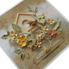Velikonoční přání Květinové s budkou 3