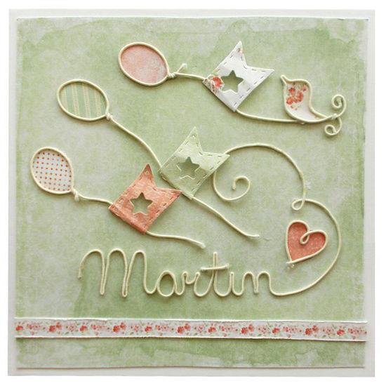 Obrázek Přání k narození dítĕte Martin