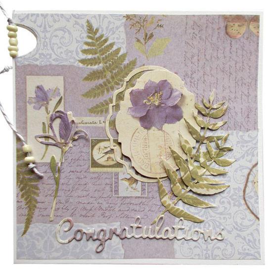 Obrázek Přání do obálky Nĕžné s korálky 2