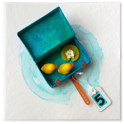 Obrázek Přání k 5. narozeninám V kufříku
