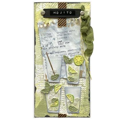 Obrázek Přání do obálky Mojito