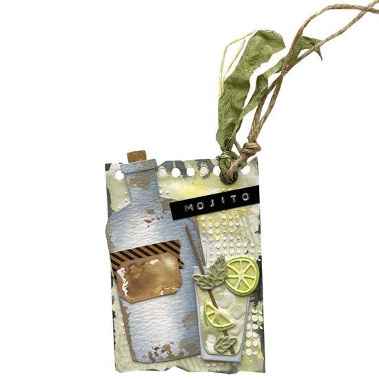 Obrázek Visačka na dárek (velká) Mojito