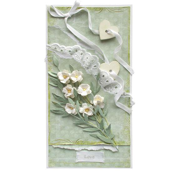 Obrázek Svatební přání Něžně zelené