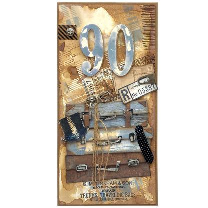 Obrázek Přání k 90. narozeninám Cestovatel