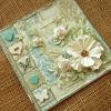 Obrázek Svatební přáníčko Vintage bílá