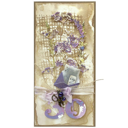 Obrázek Přání k 30. narozeninám S levandulí