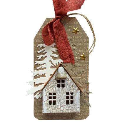 Obrázek Jmenovka na dárek (velká) Domeček 2