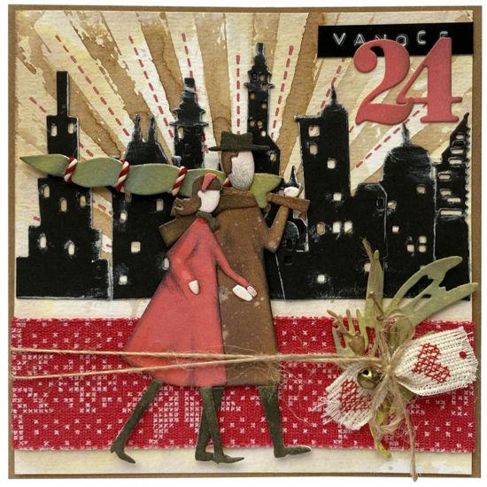 Obrázek Vánoční přání Vánoční stromeček máme 2