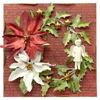 Obrázek Vánoční přání Věnec s panenkou