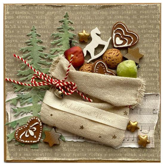 Obrázek Vánoční přání Nadílka 2
