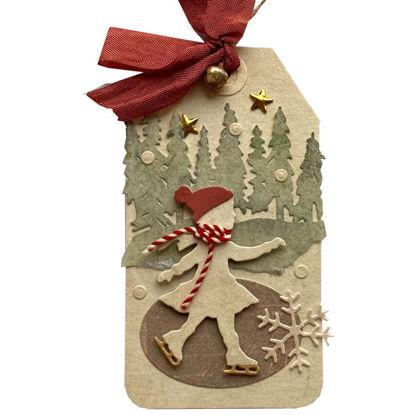 Obrázek Jmenovka na dárek (velká) Bruslařka