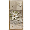 Obrázek Vánoční přání na peníze Bílý květ