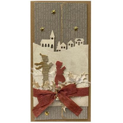 Obrázek Vánoční přání na peníze Koledníci