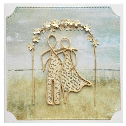 Obrázek Svatební přáníčko Z provázků 3