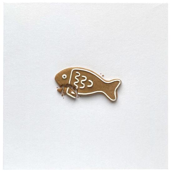 Obrázek Vánoční přání Perníček ryba 1