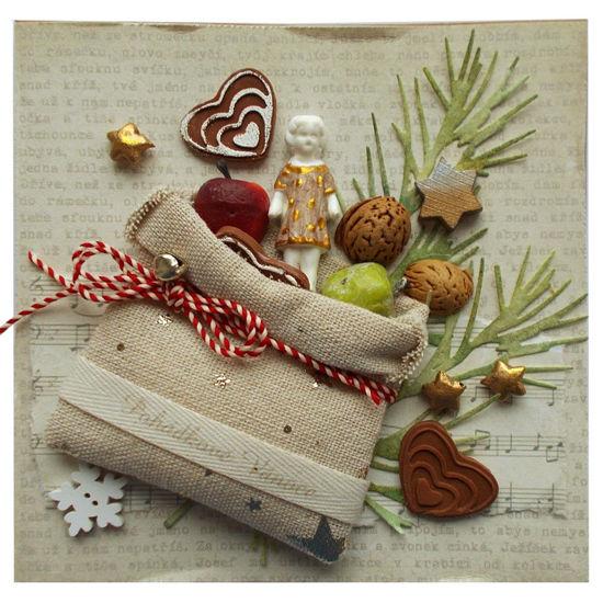Obrázek Vánoční přání Nadílka 3
