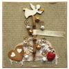 Obrázek Vánoční přání Stromeček s andělem 2