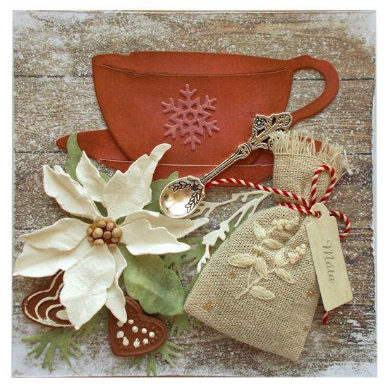 Obrázek Vánoční přání Vánoční čaj s mátou 2