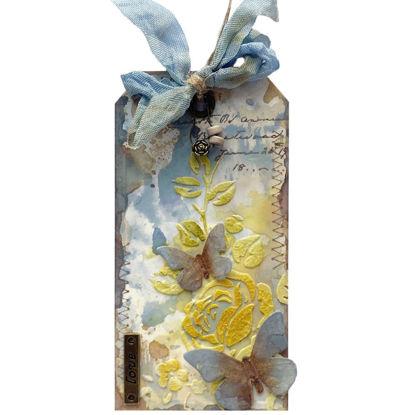 Obrázek Jmenovka na dárek (velká) S motýlky