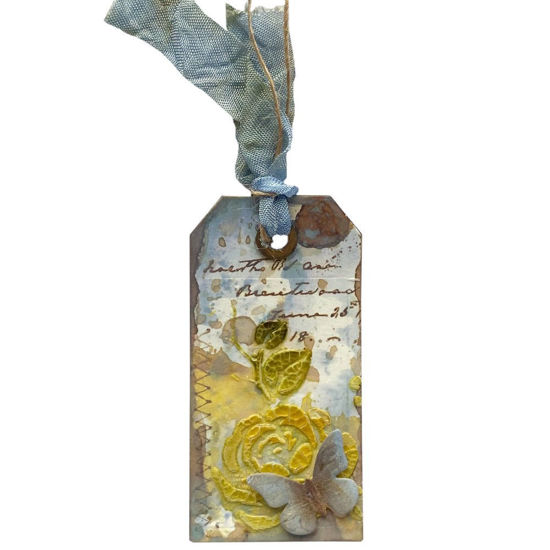 Obrázek Jmenovka na dárek (malá) S motýlkem
