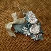 Obrázek Jmenovka na dárek (velká) Bílé růže