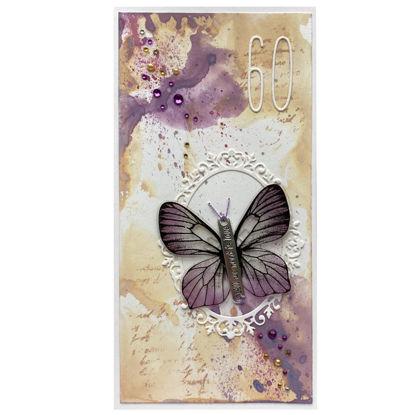 Obrázek Přání k 60. narozeninám S křídly