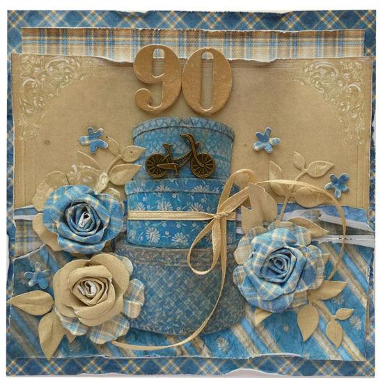 Obrázek Přání k 90. narozeninám Přání s kolem
