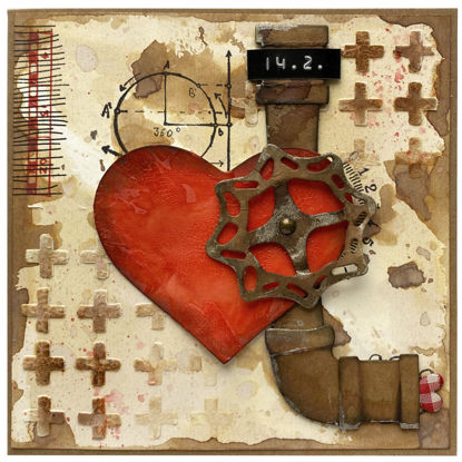 Obrázek Valentýnské přáníčko Otevřené srdce