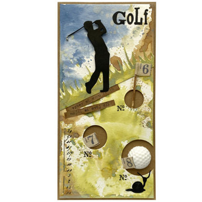 Obrázek Přáníčko do obálky Golf