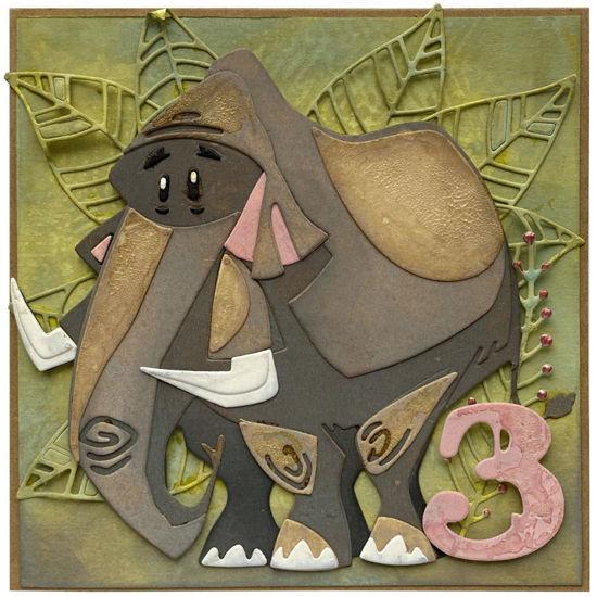 Obrázek Přání k 3. narozeninám Mamut