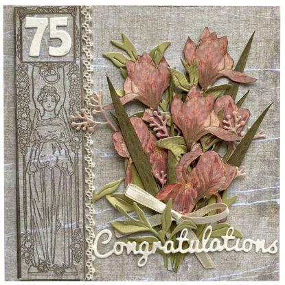 Obrázek Přání k 75. narozeninám Kytice